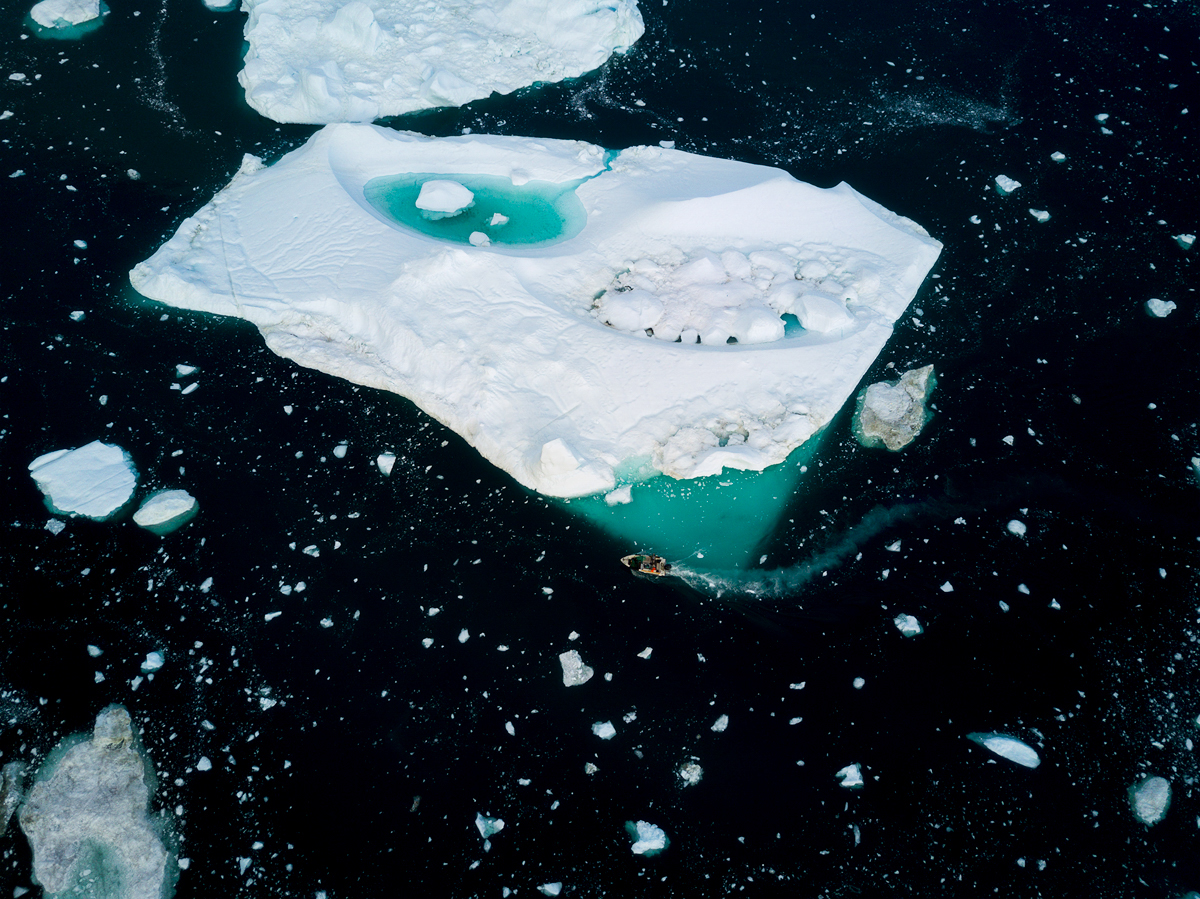 Disko Bay Greenland Boat