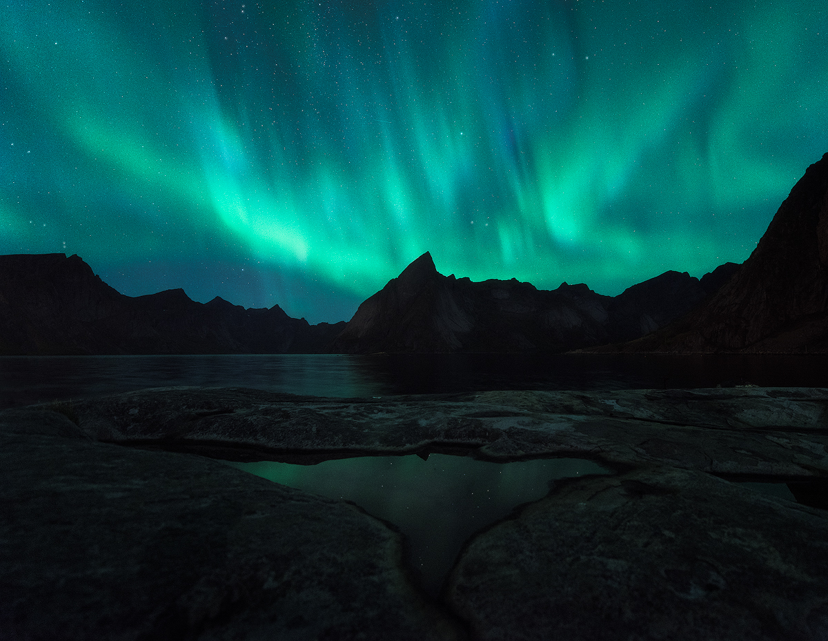 September - Chasing the Aurora in Northern Norway and Iceland