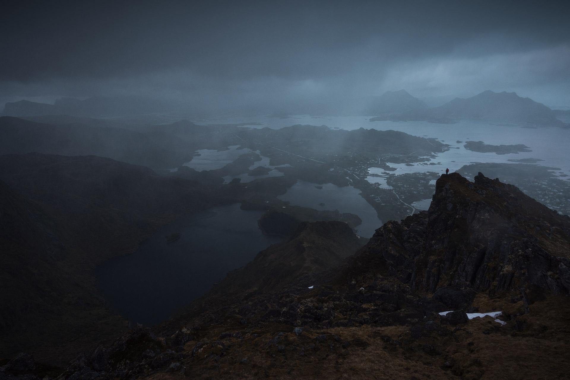 June - Wet Tents & Lofoten Hiking