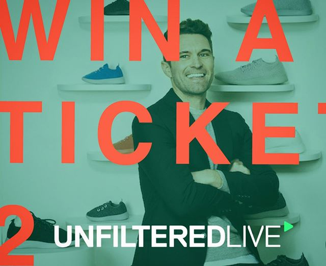 Win a $395 ticket to @unfiltered LIVE this Friday in Auckland to see the likes of @allbirds founder Tim Brown & the best of business speak!! . . Just tag a friend, write something funny, buy some @allbirds , do a gesture of kindness, save the environment or whatever... & tag me or tell me about it below to be in to win a day of life changing business advice which could make you billions or help you save the world!!! You can also get 50% off GA & VIP tickets using the discount code AKL50/CHCH50 (depending on your location). . . Don't tell me I don't do anything for my followers! Love you all like I love burritos, a lot! 🤙🏼 #unfilteredlive #jakemillar #business #allbirds #fallforward