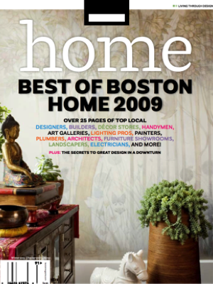 Best of Boston Home, 2009