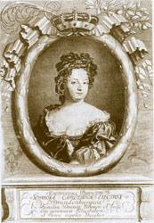 Bildnis der Königin Sophie Charlotte (1668-1707)
