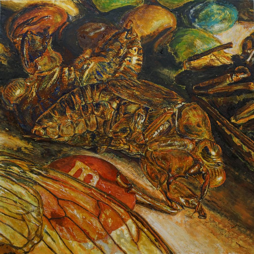 Cicadas and Sweets I / セミと飴 I