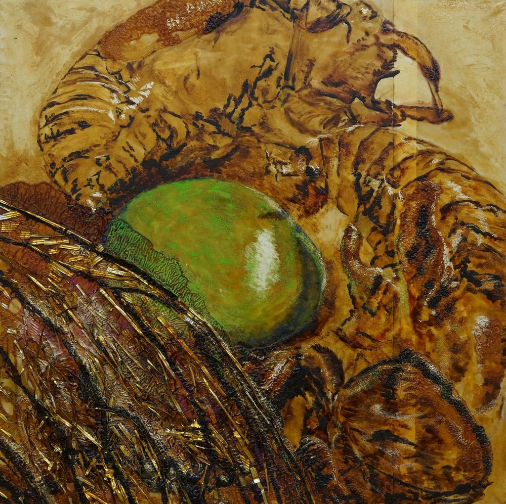 Cicadas and Sweets II / セミと飴 II