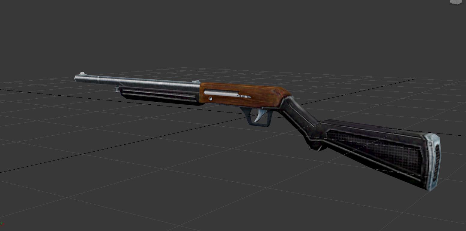 A Low-poly Shotgun