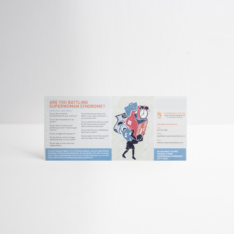 Informational Card Design / Front