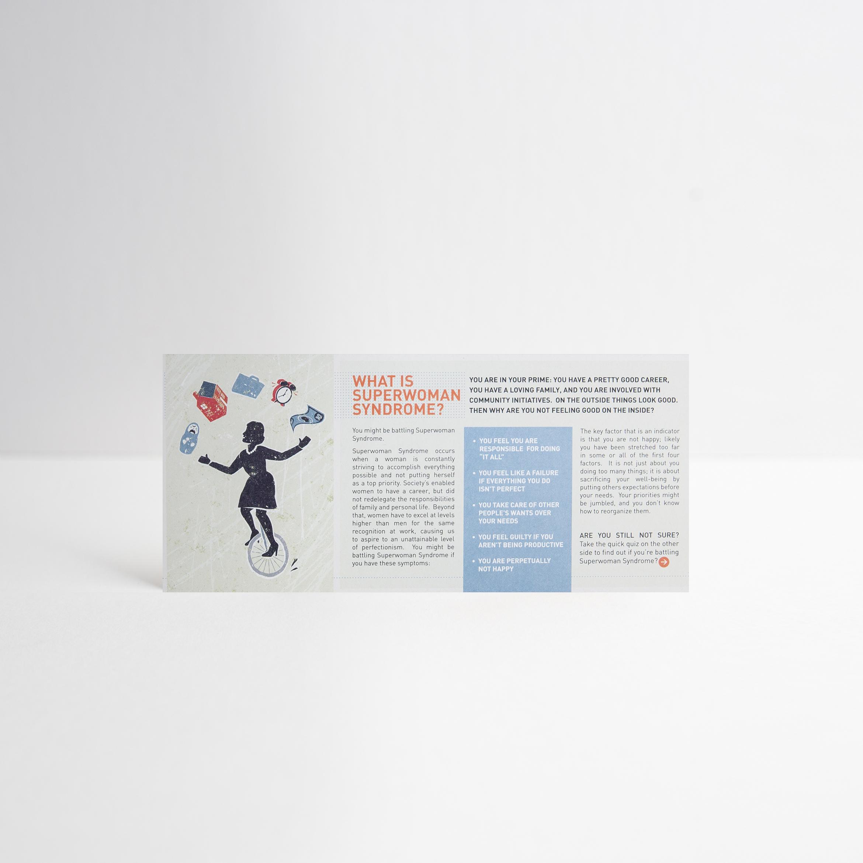Informational Card Design / Back