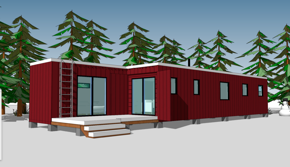 double shipping container house.png