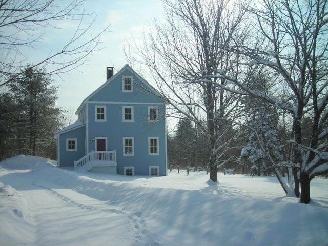 Our first house building project was a trial by fire experience. Belfast, ME (Fine Homebuilding, 2009)