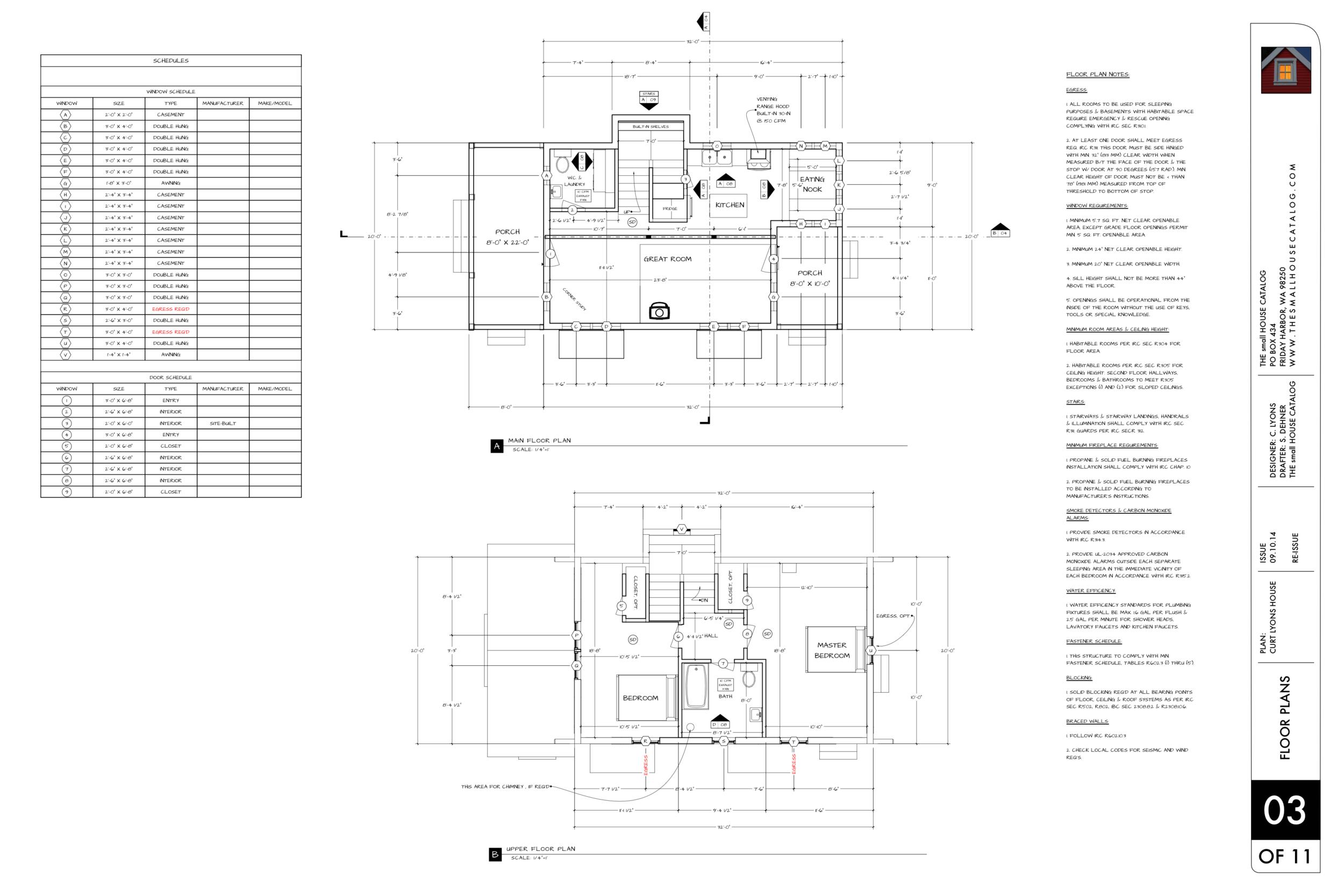 cottonwood cottage floor plan 1.5 story