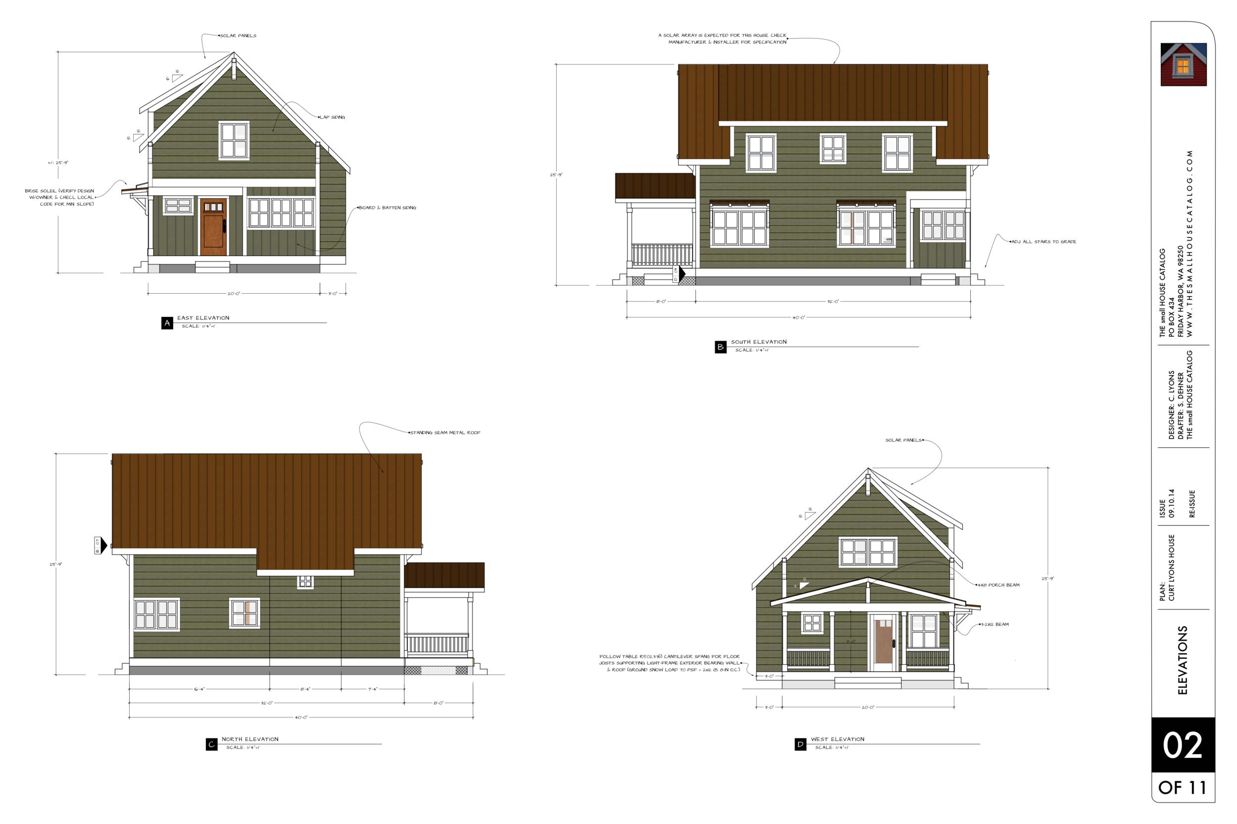 cottonwood cottage 2 story