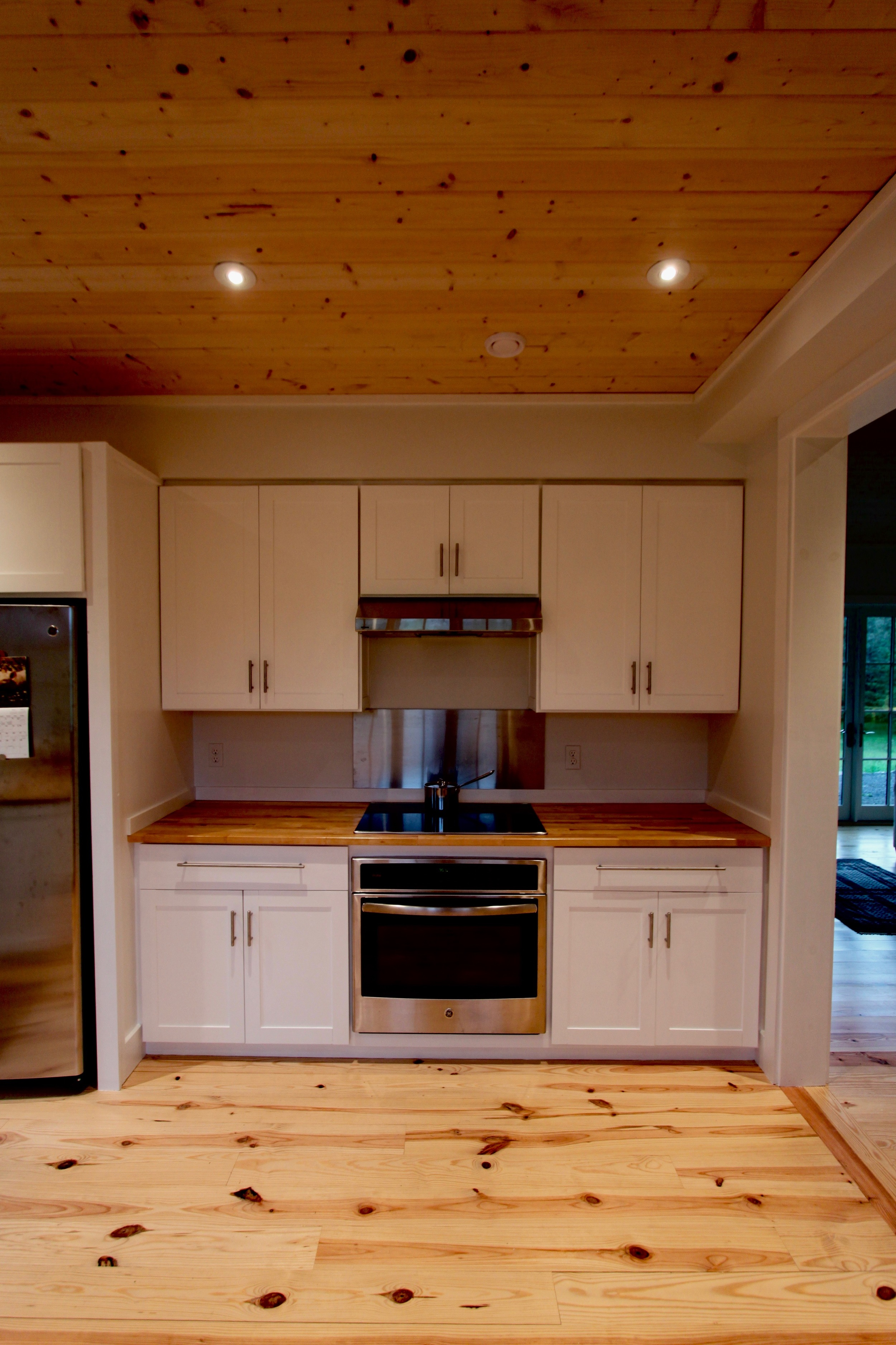 Built-in appliances permit customization with cabinetry. (GE Profile)