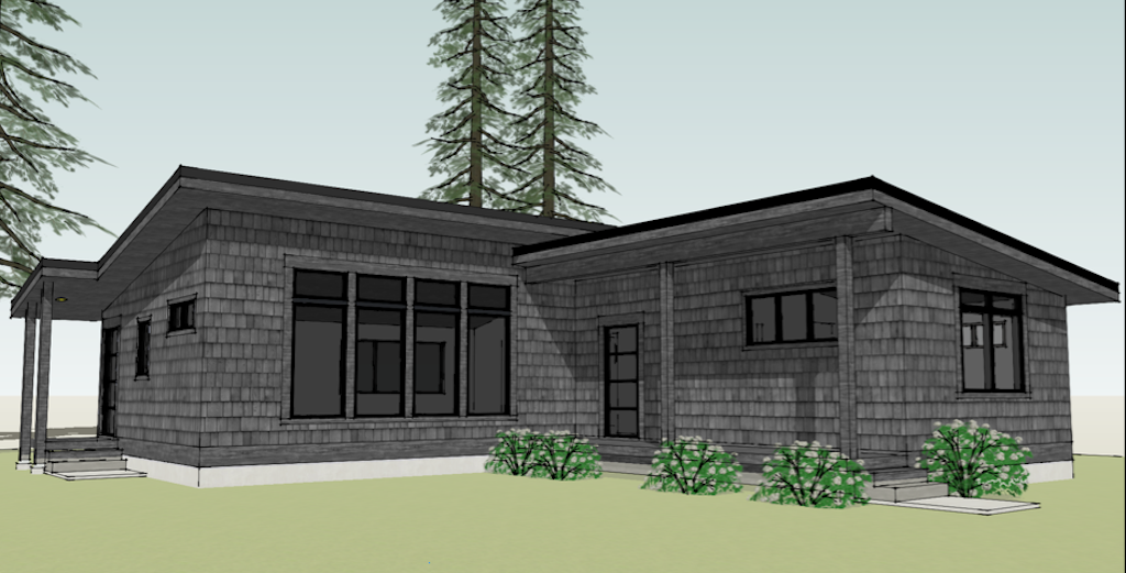 Claire cottage house plans with 2 bedrooms, modern shed roof.png