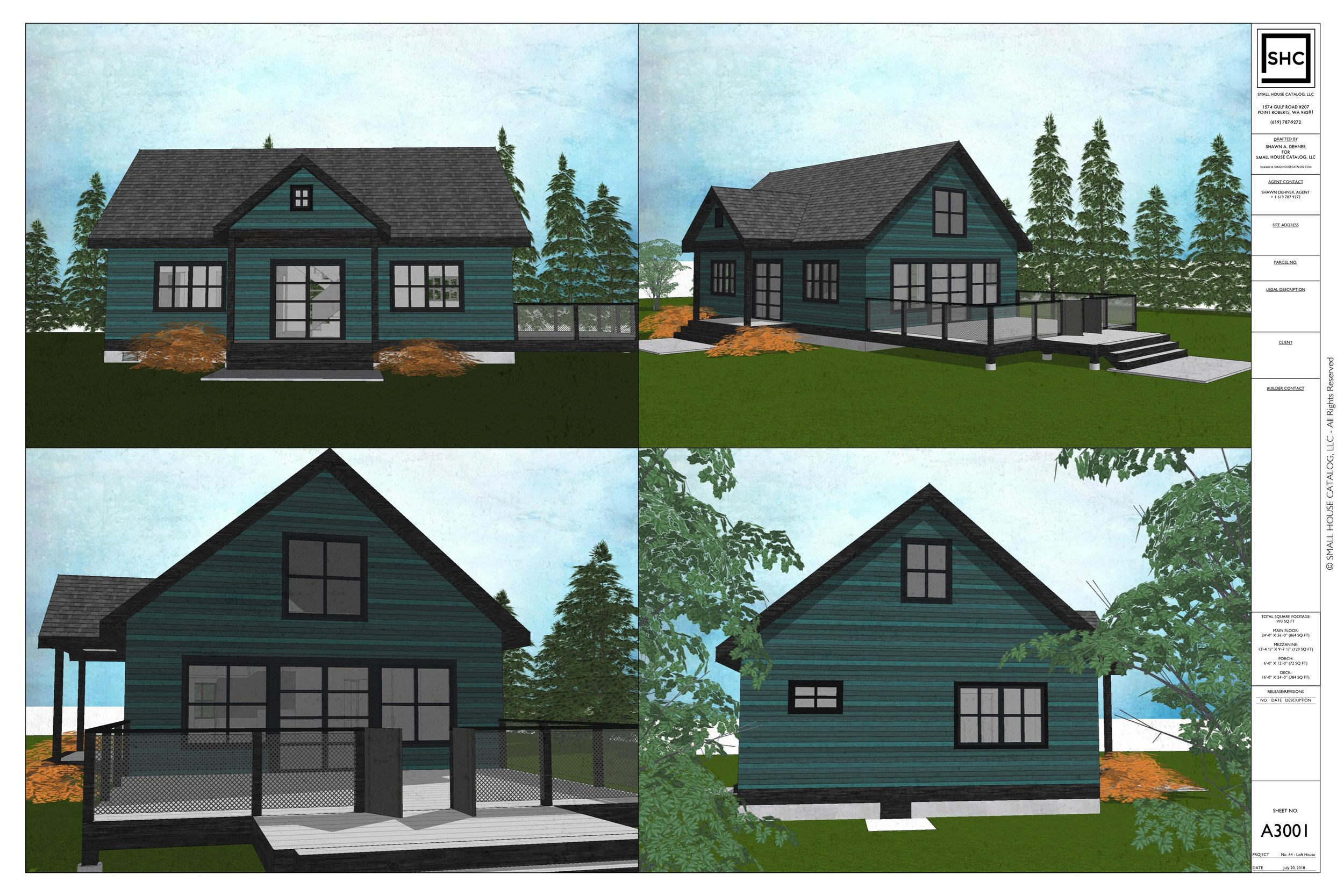 Plan No. 64 - The Loft House