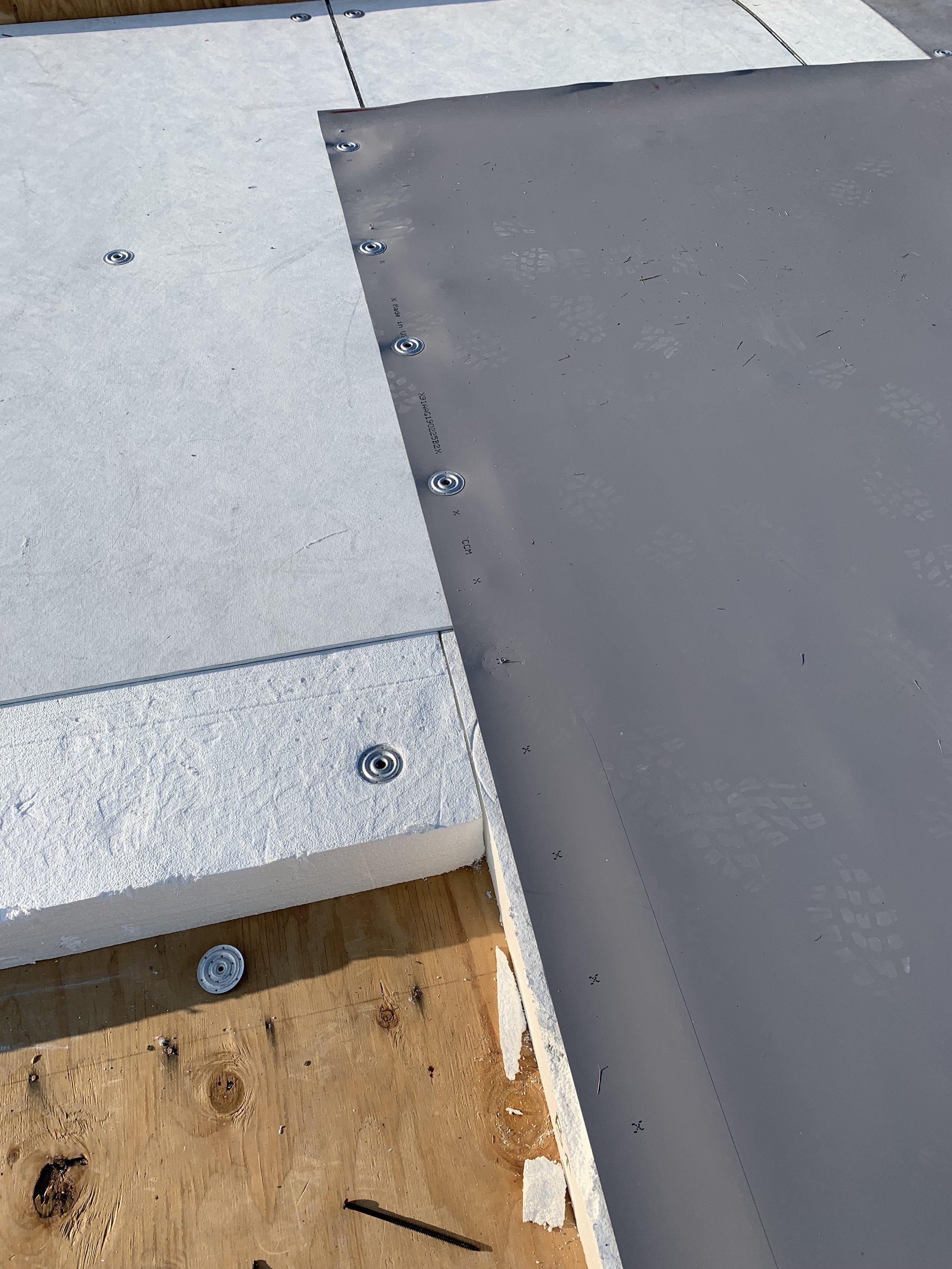 Tapered insulation
