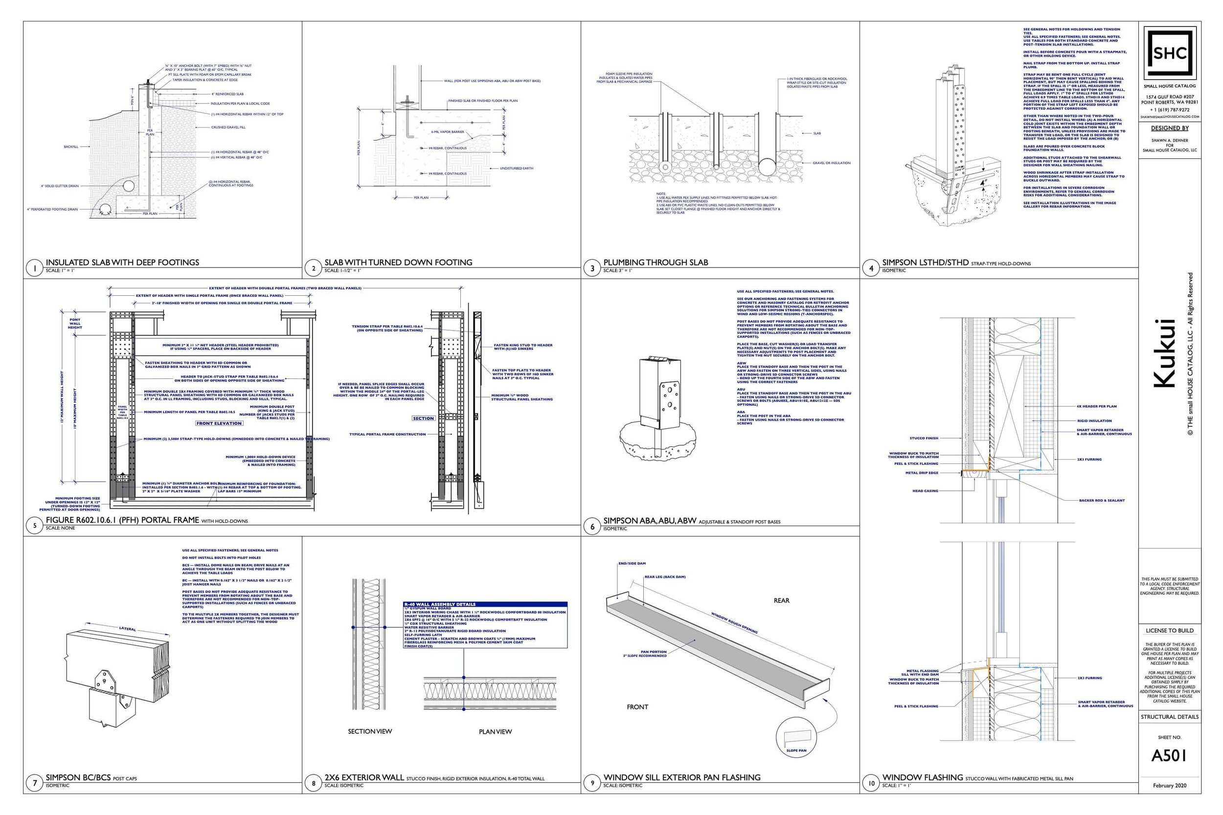 [DHAV_9290]  Sample — THE small HOUSE CATALOG | Architectural Engineering Schematics |  | THE small HOUSE CATALOG