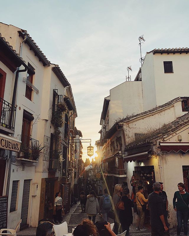 When work takes you to #granada #spain