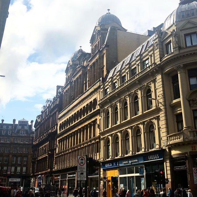 1st day is Glasgow #scotland #conference #worktrip