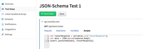 Validating API Payloads Using JSON Schema and Runscope