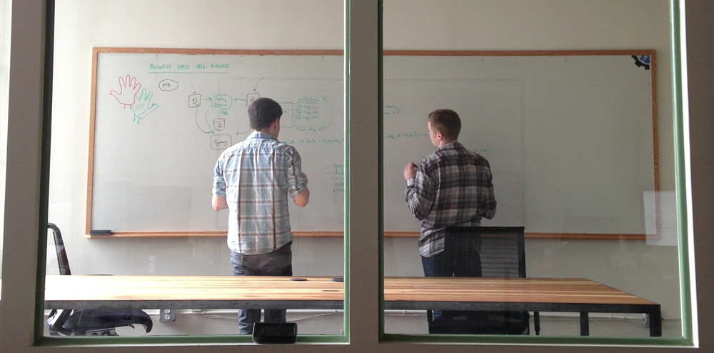 Frank Stratton and Stephen Huenneke lay the groundwork for Runscope's API Monitoring tools.