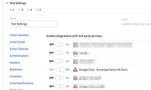 How To Send Runscope Webhook Notifications to Google