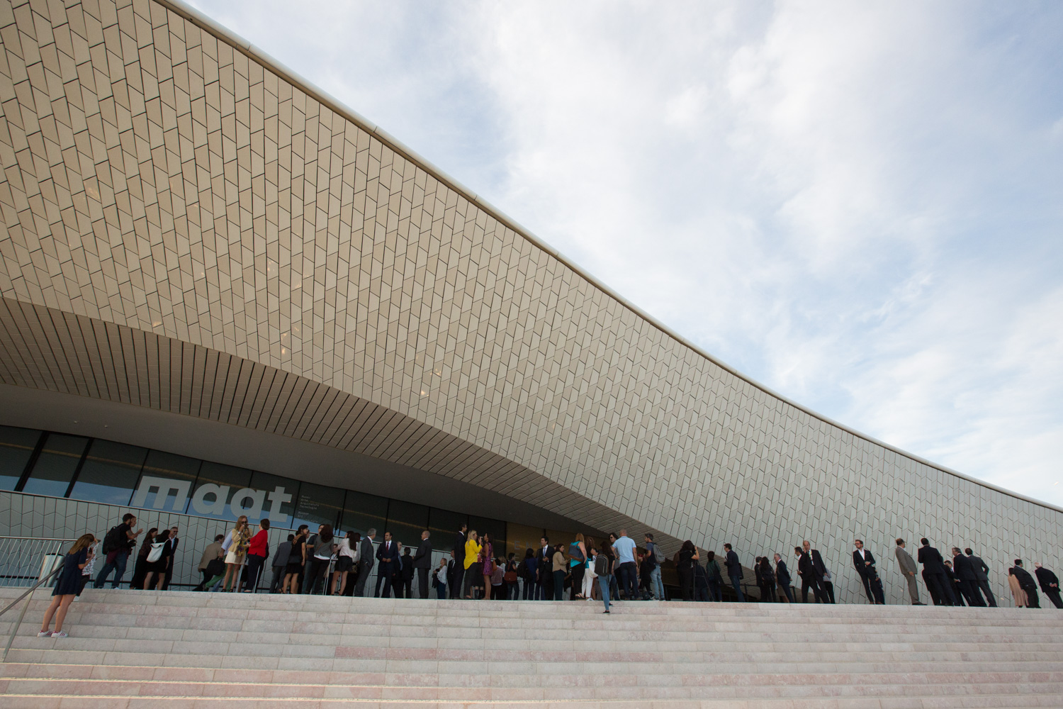 Opening of MAAT, Museum of Art, Architecture and Technology, on the Tagus River in Belém, Lisbon, designed by the British architect Amanda Levete. Photos: Miguel Manso / Xposed