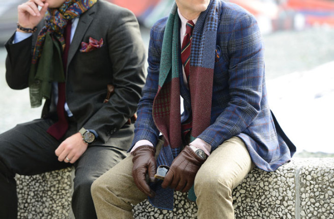 photo by Tommy Ton at Pitti Uomo