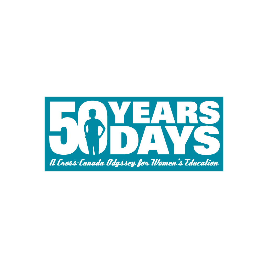 Logo: 50 Years 50 Days