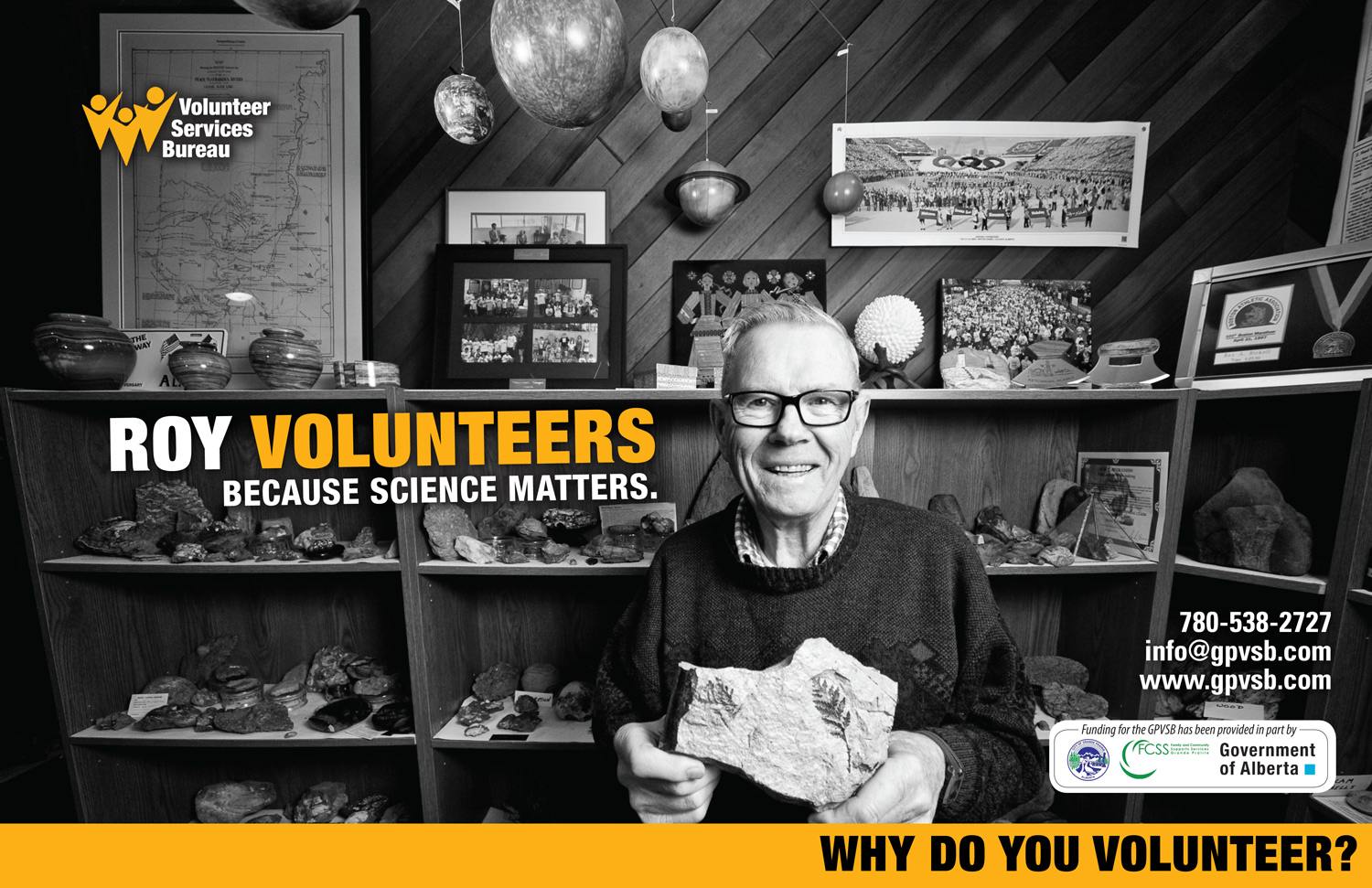 Photography and Poster Design: Grande Prairie Volunteer Services Bureau