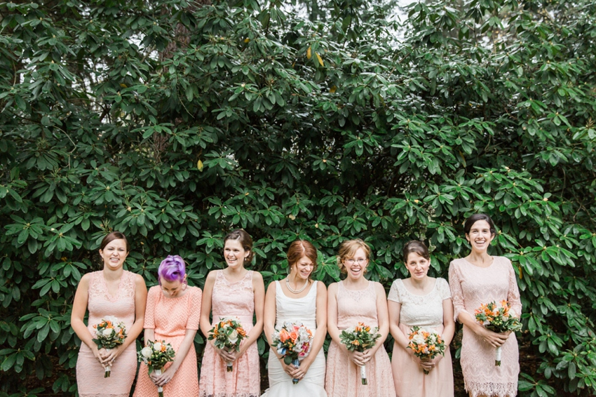 The bridal party from Portland photographer Catalina Jean.