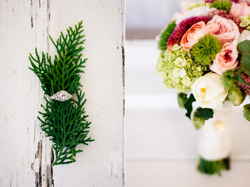 Pretty details from a Portland wedding at Newell House Museum by Catalina Jean Photography