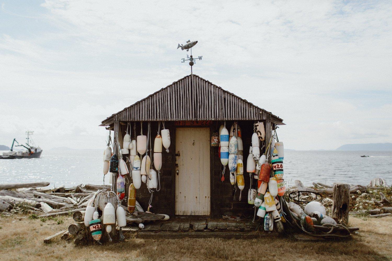 Boathouse on Lummi Island
