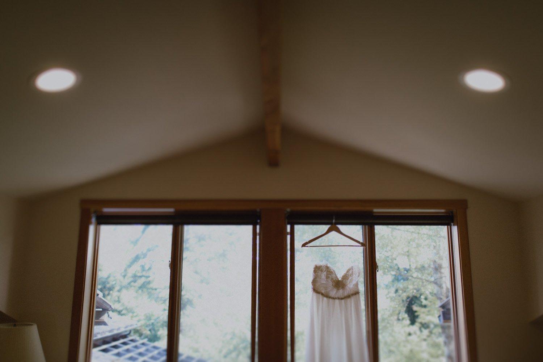 A wedding dress designed by Sarah Seven