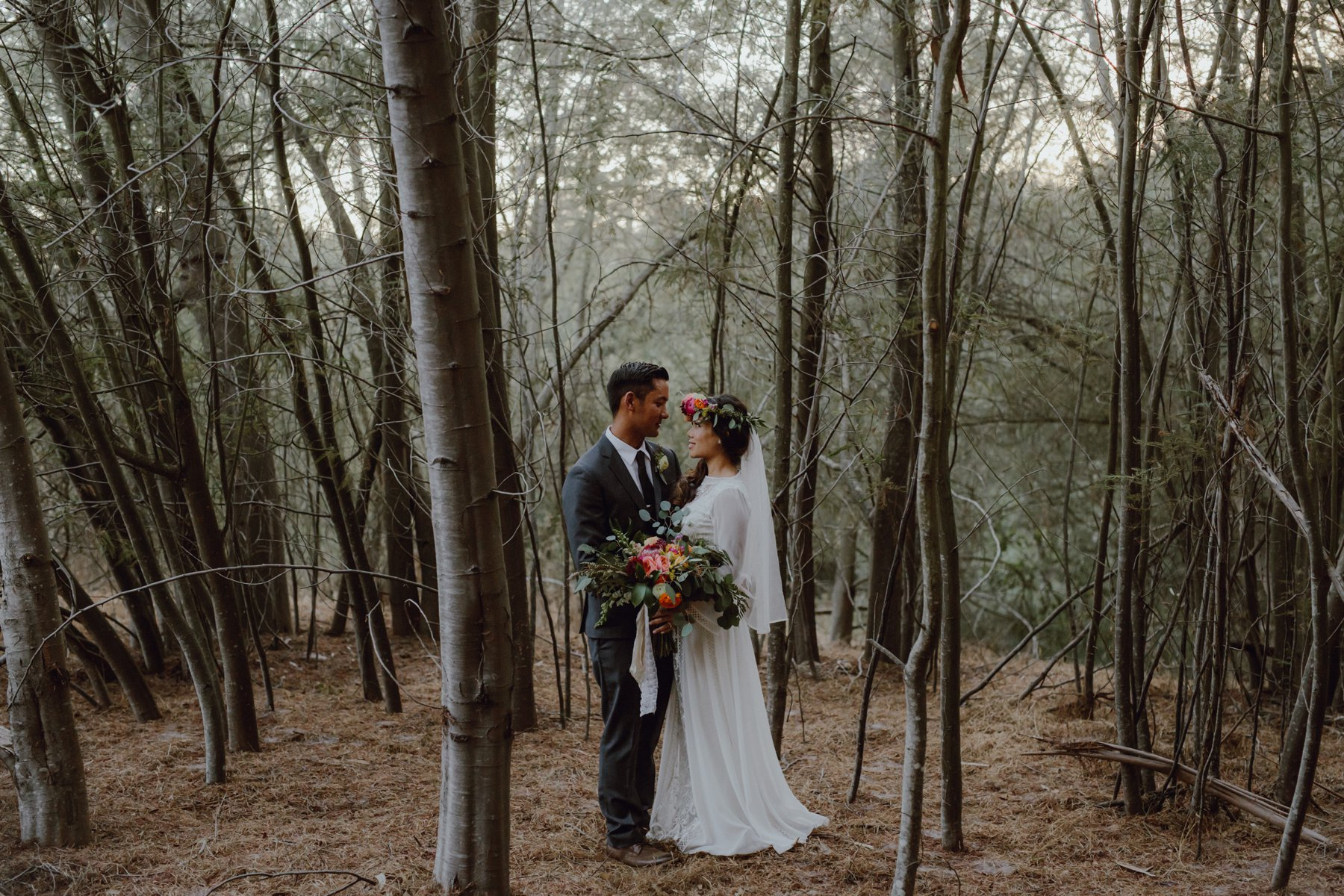 Wedding photo at Sand Rock Farm