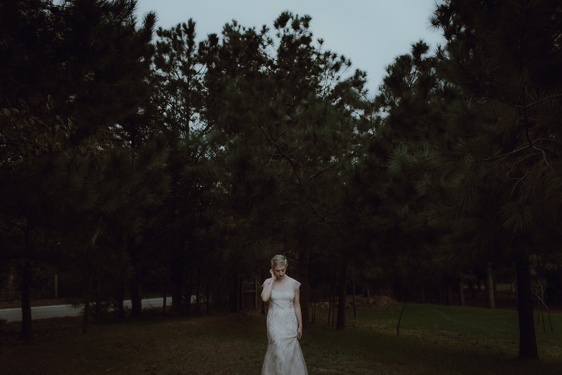 A photo of a bride at wedding venue Sweet Olive Farm
