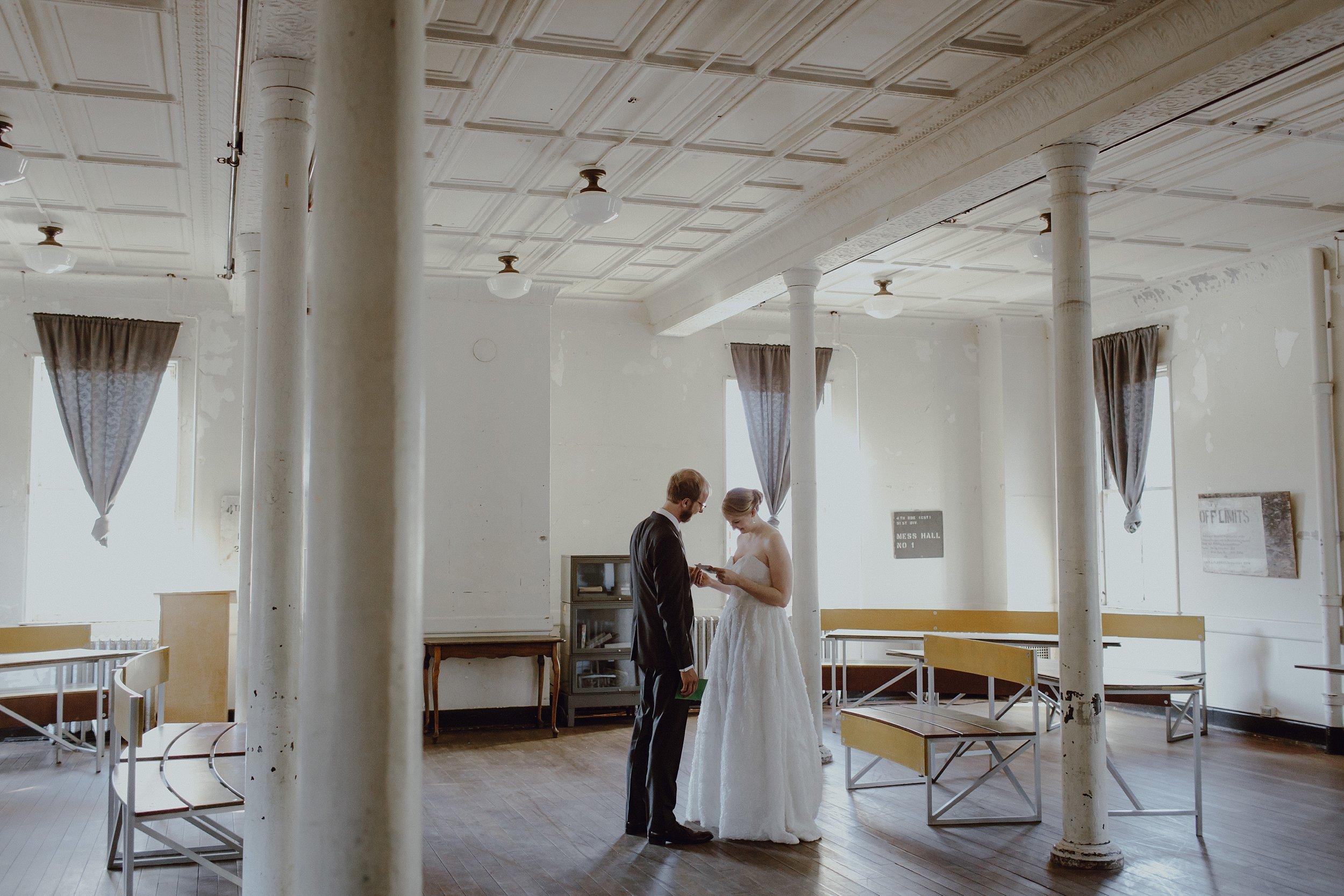 Headlands Center for the Arts wedding location