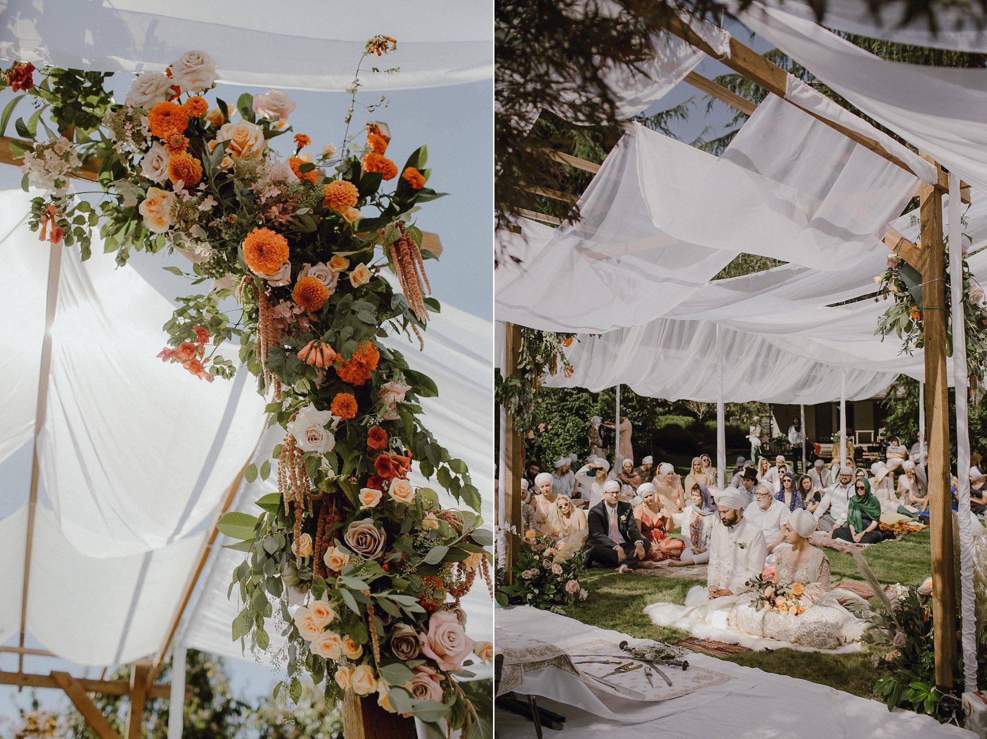 Wedding decor by Vanity Affair Events Portland, Oregon
