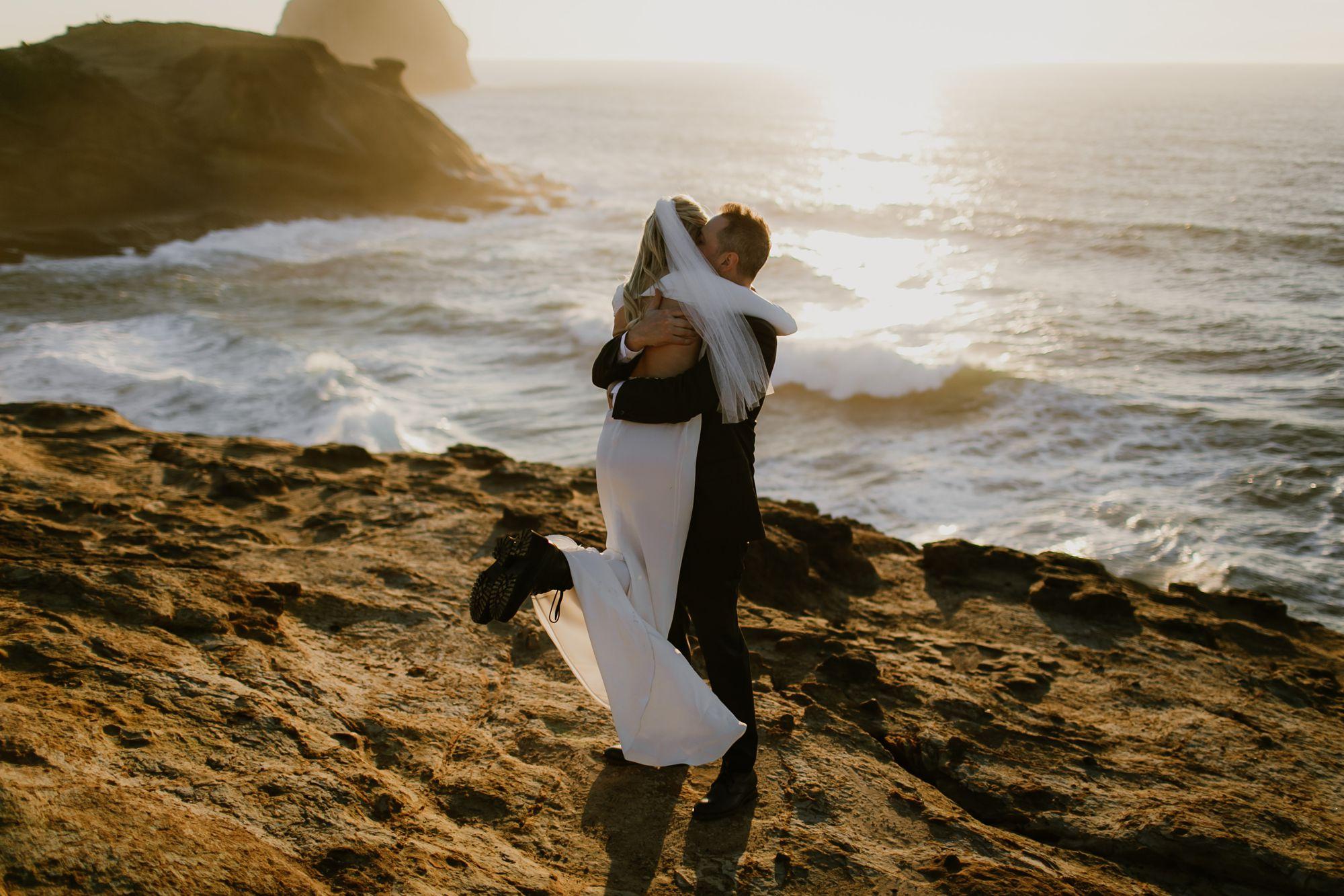 Wedding at the Oregon Coast