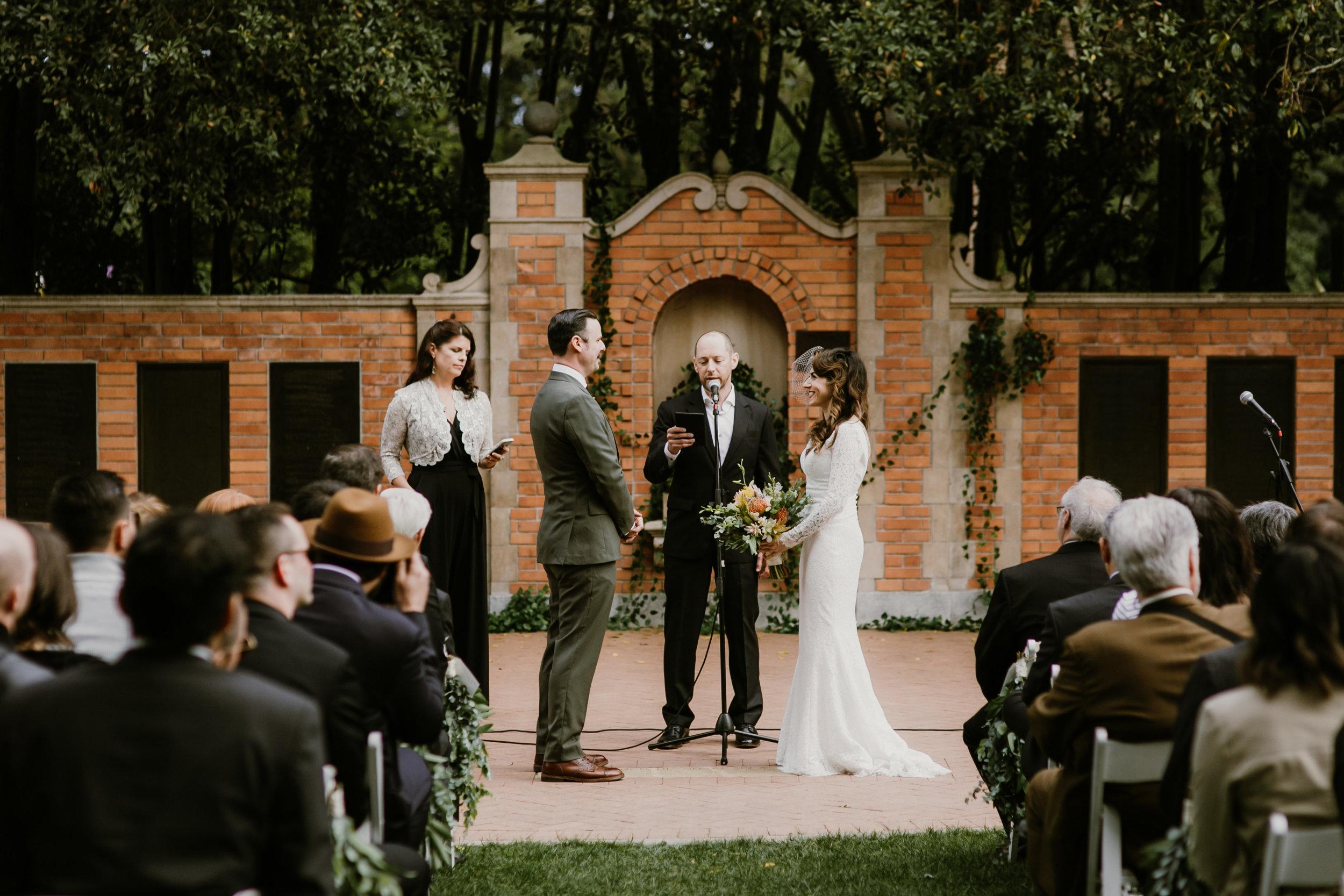 Golden Gare Park Wedding Photo