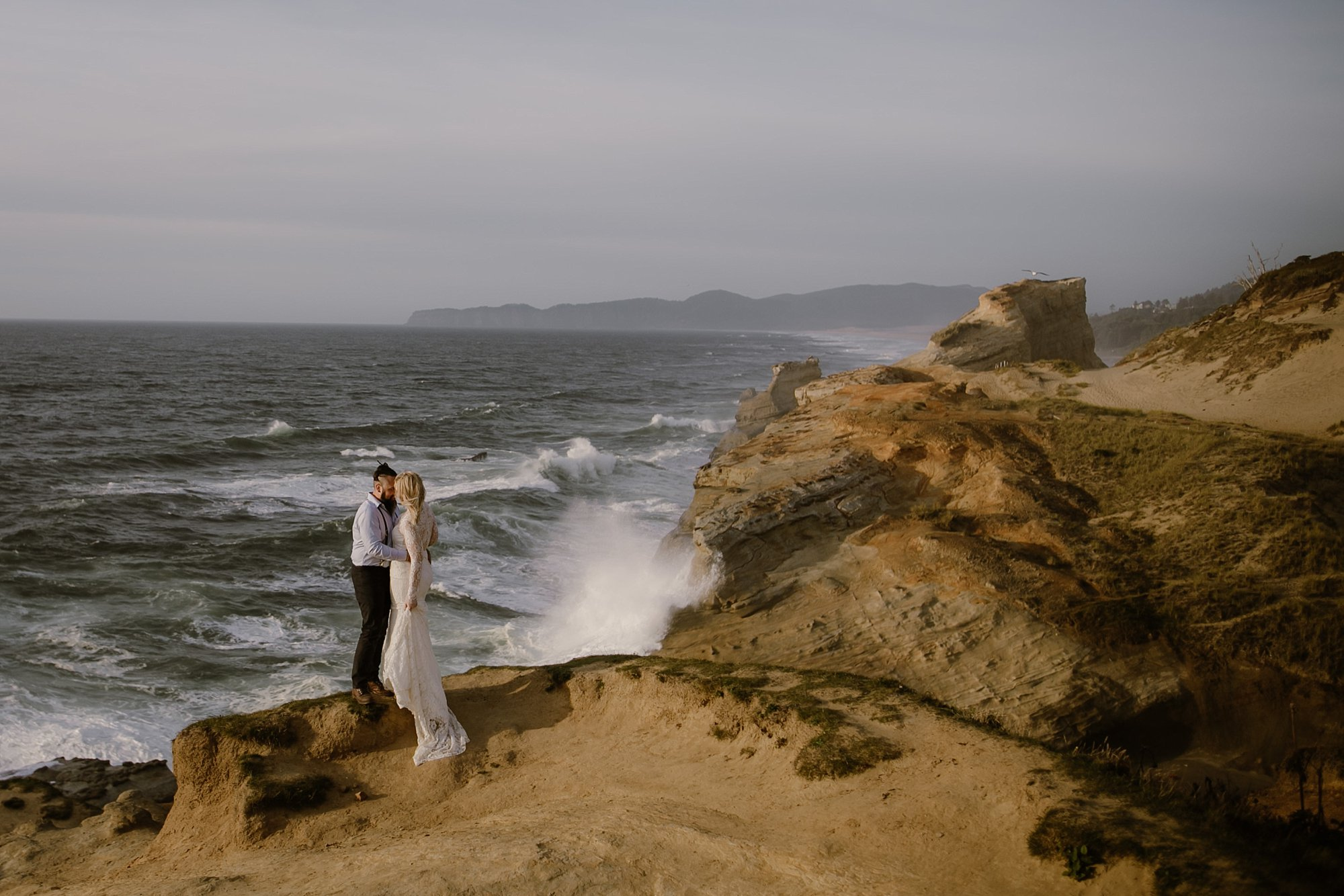 Cape Kiwanda Wedding Photos