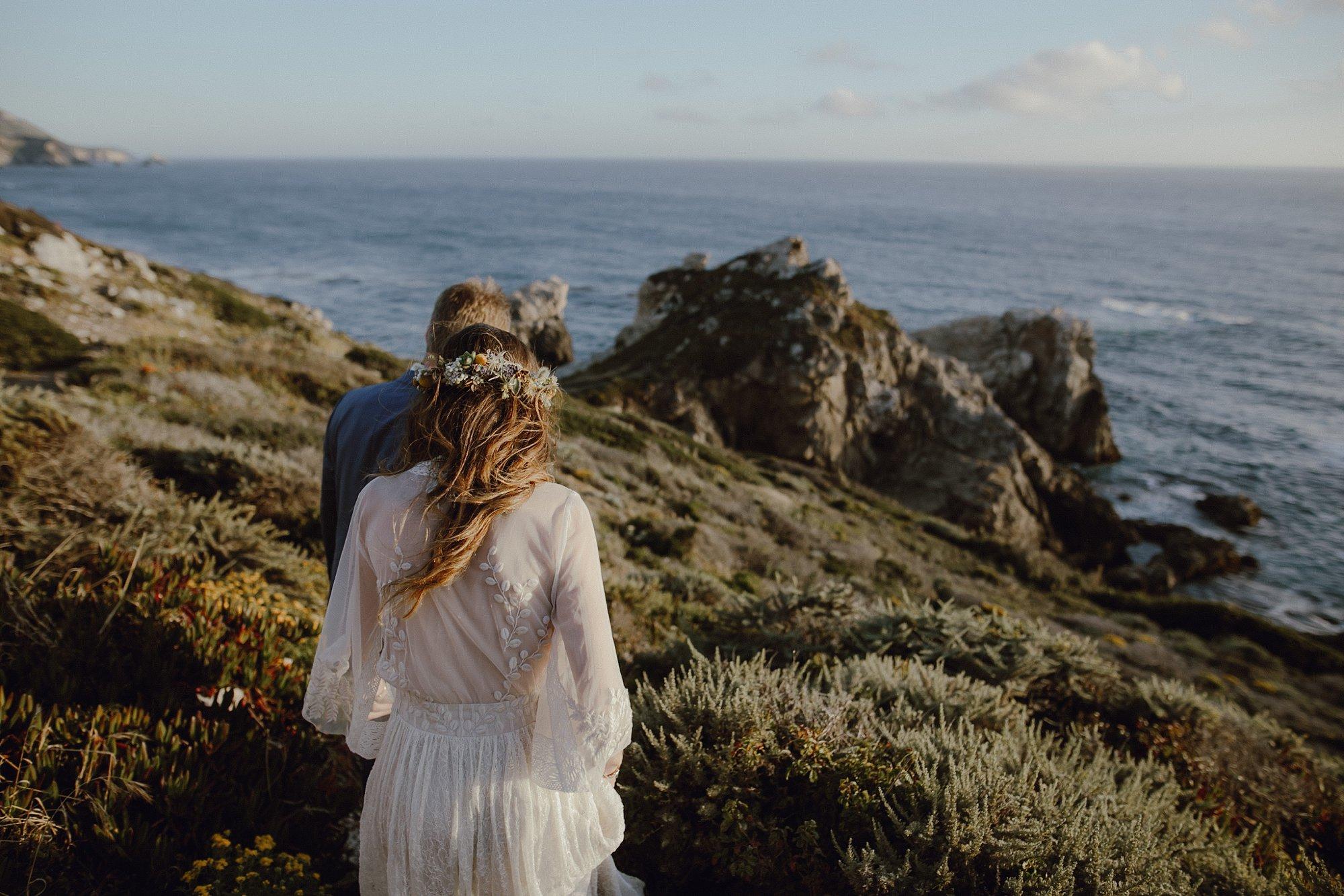Siobhan + Ken's Wedding at Rocky Point in Big Sur, CA