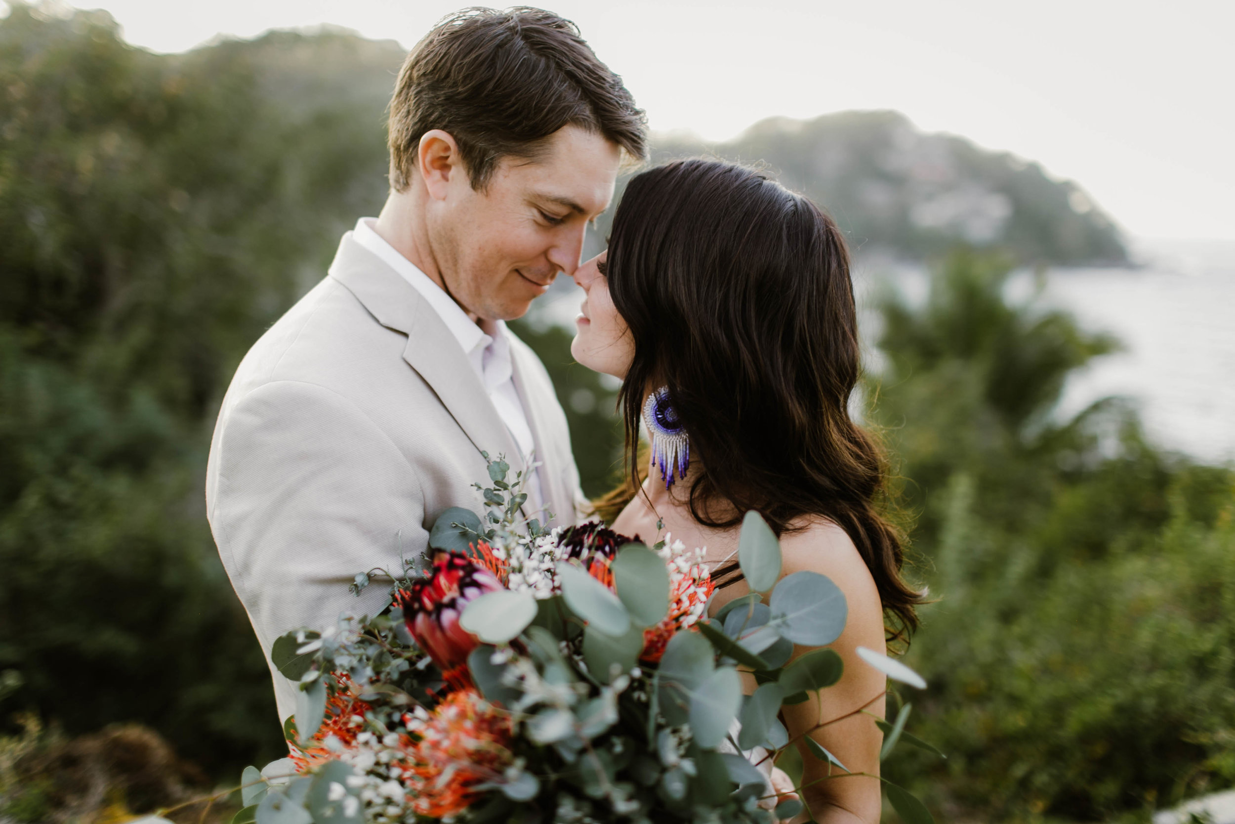 Destination Wedding at Villa Amor in Sayulita Mexico