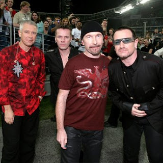 U2, who actually have no idea when their last show is  themselves.