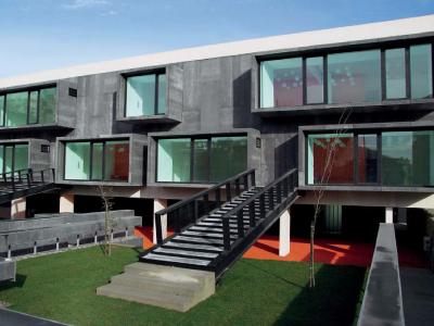 Black Viroc facades | Popular Kindergarten | Nadir Bonaccorso | Cacém, Portugal