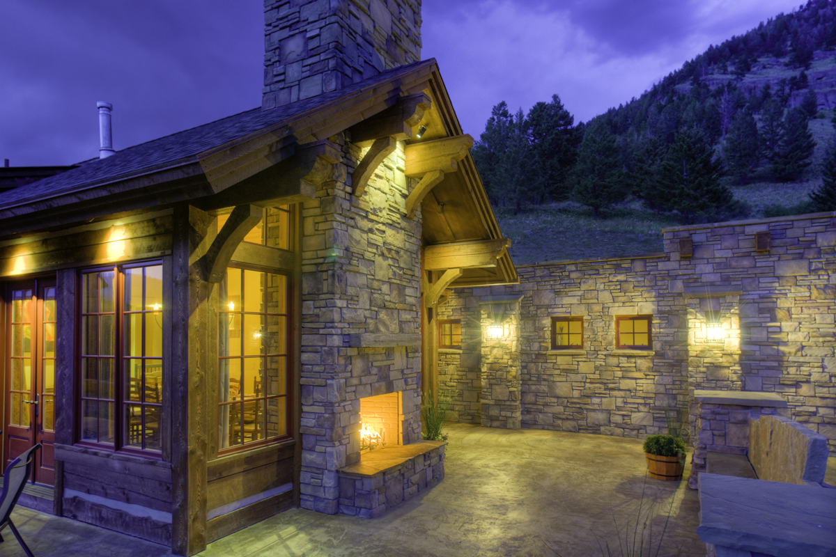 Bridger Mountain Home