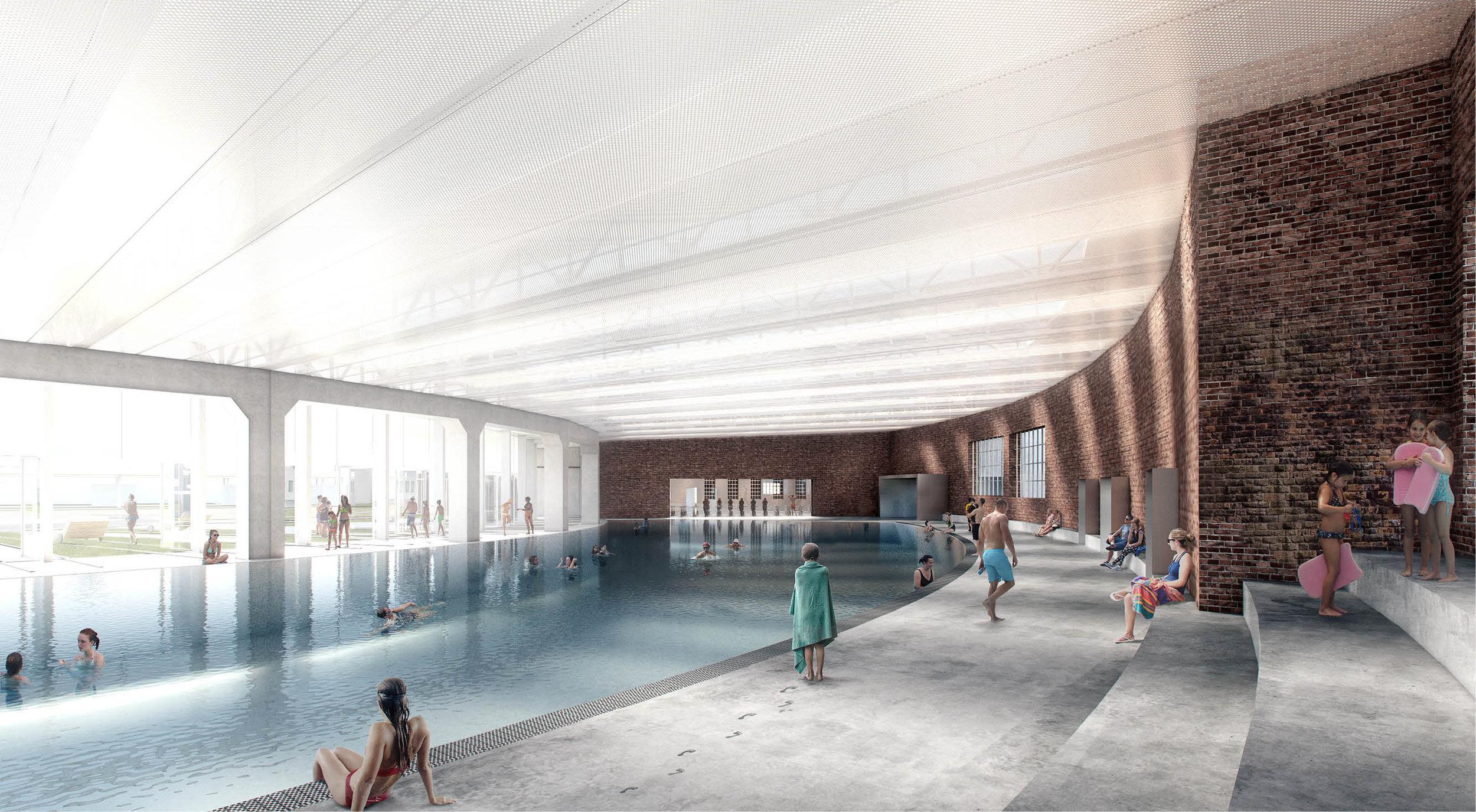 Main Swimming Pool, Lokschuppen 2