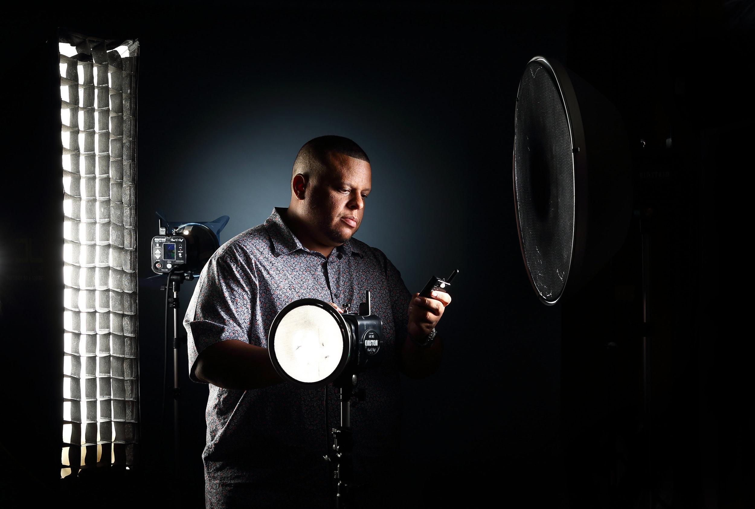Antony Scully in studio photo: Sarah Moolchan