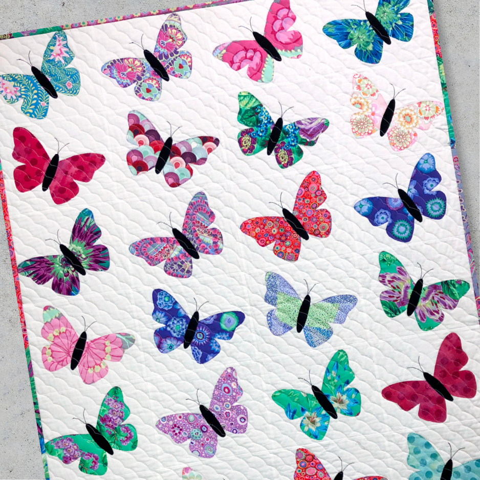 Fusible Butterfly Applique