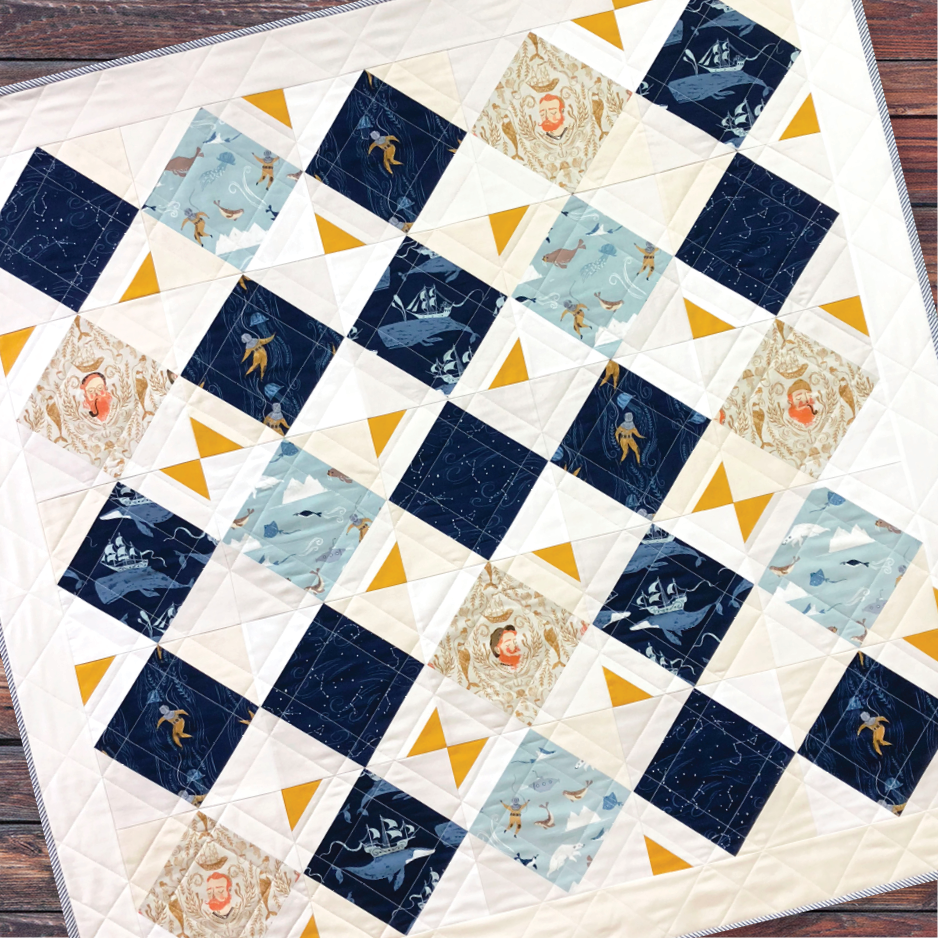 The North Star by Quilted Angel