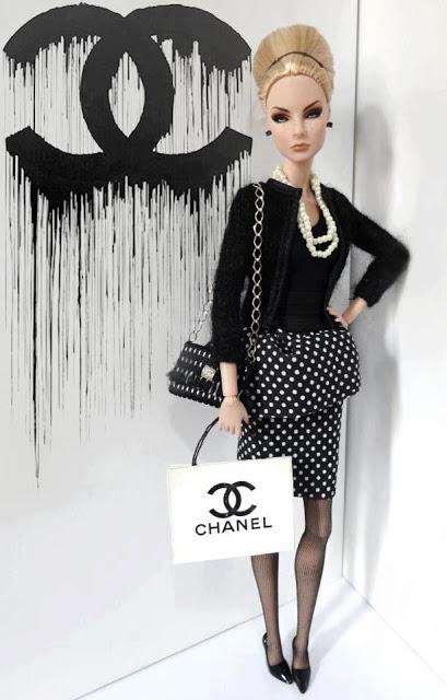 Chanel Barbie